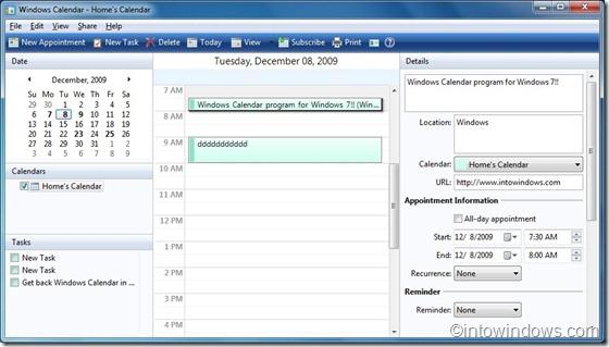 WindowsCalendarforWindows7