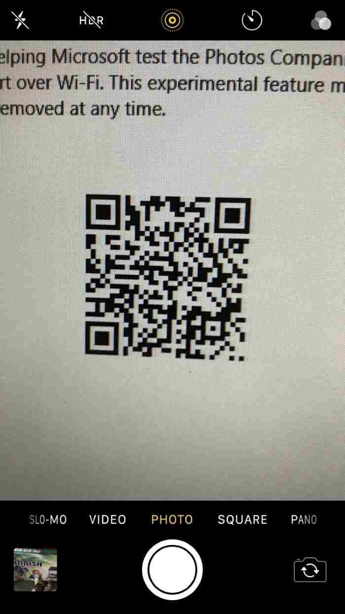 Transferencia inalámbrica de fotos del iPhone a Windows 10 (01)