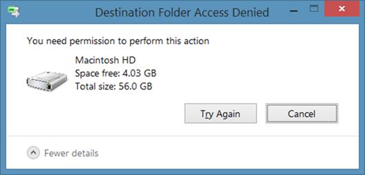Escribir en partición HFS desde Windows
