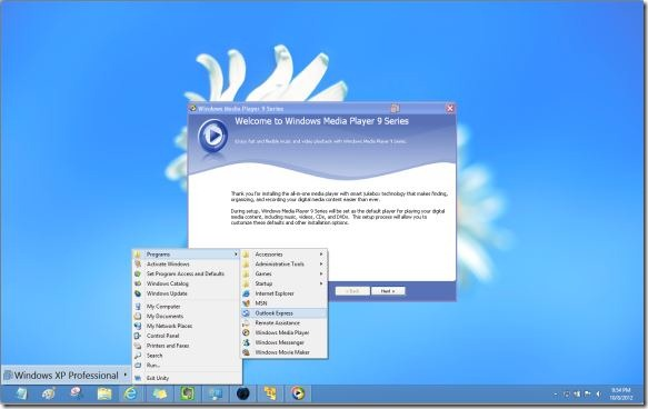 XP Mode In Windows 8 Picture1