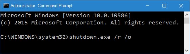 acceder a la configuración UEFI desde Windows 10 step10