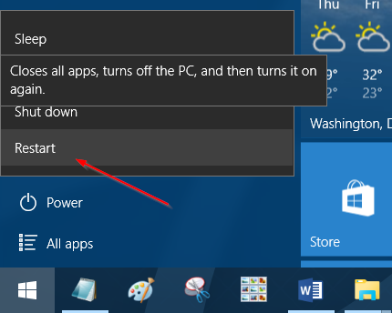 acceder a la configuración UEFI desde Windows 10 step11