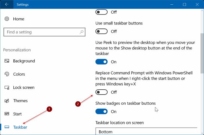 añadir línea de comandos para ganar x menú de usuario avanzado Windows 10 pic3