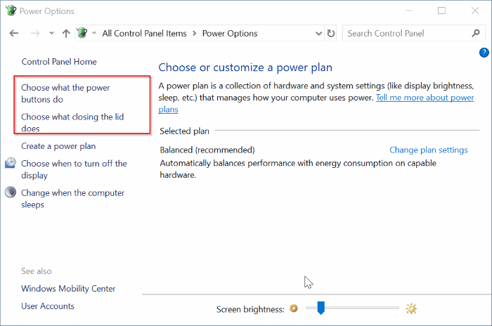 agregar opción de hibernación al menú de energía en Windows 10 Inicio pic3