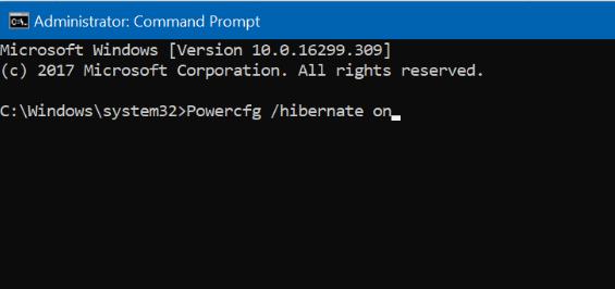 agregar opción de hibernación al menú de energía en Windows 10 Inicio pic6