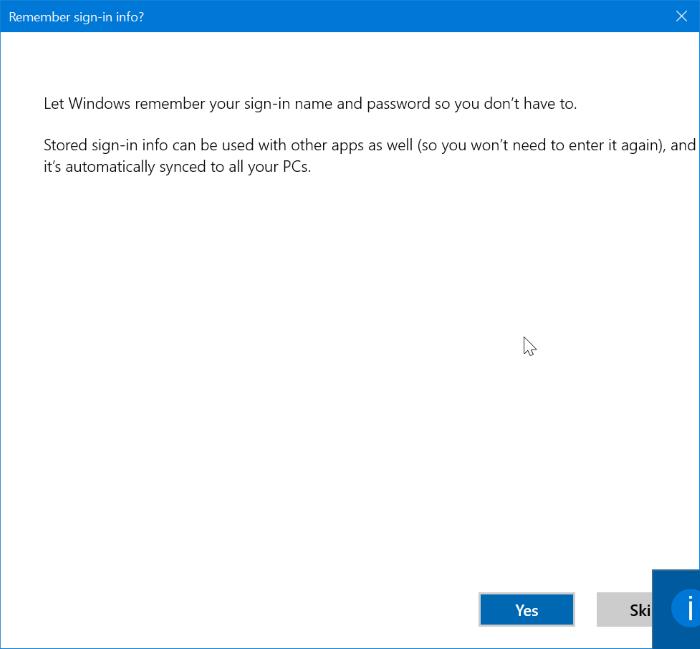 agregar una cuenta de correo yahoo a Windows 10 mail step10