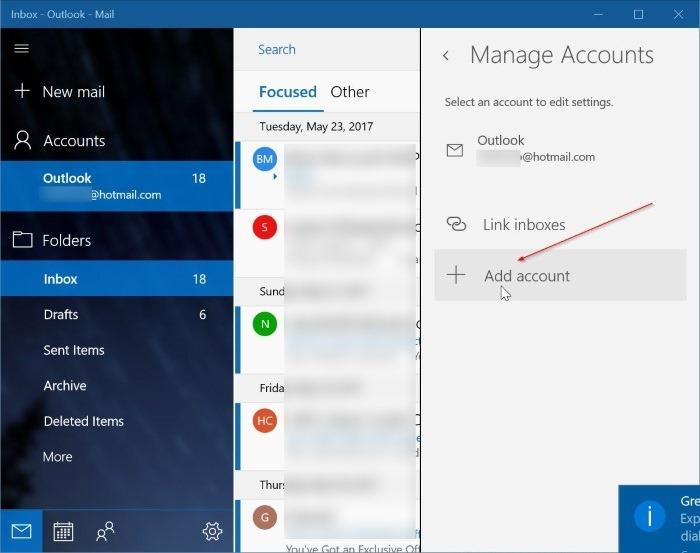 agregar una cuenta de correo de yahoo a Windows 10 mail step3