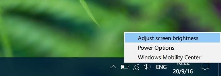 ajustar el brillo de la pantalla en Windows 10 pic3