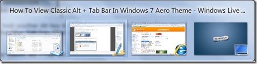 Cómo ver Classic Alt + Tab en Windows 7 Aero Theme pic2