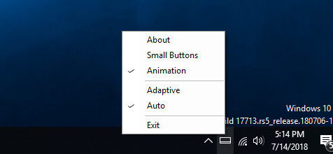 auto hide taskbar when window maximized pic1