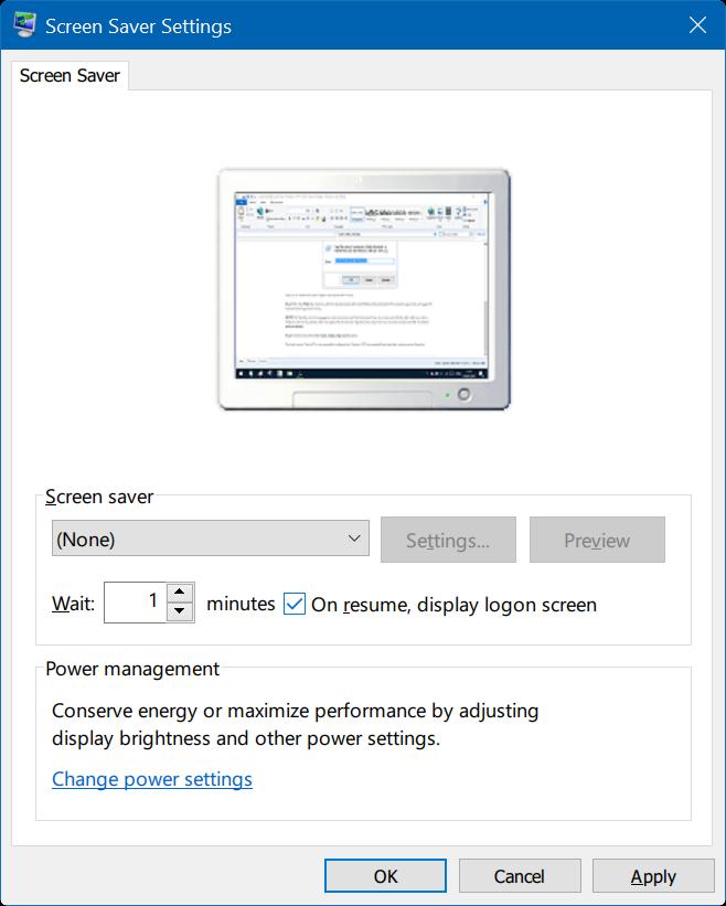 bloquea automáticamente windows 10 PC cuando está ausente step1.1