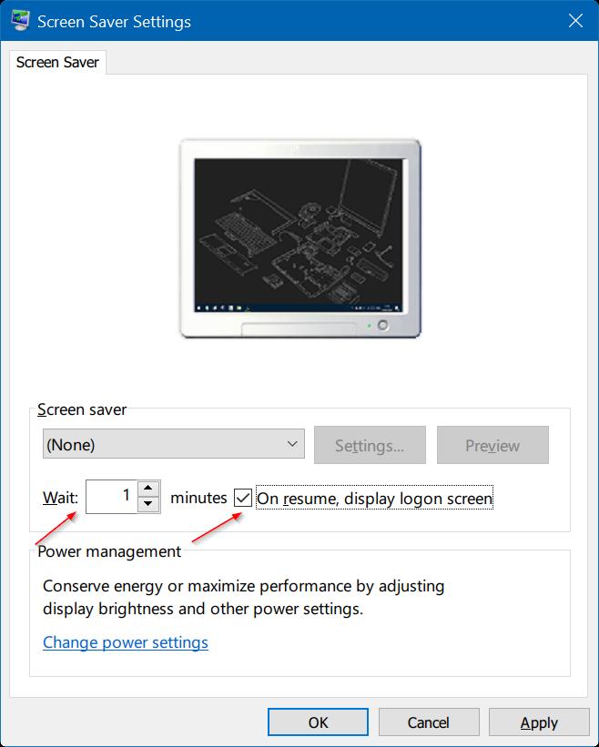 bloquea automáticamente windows 10 PC cuando está ausente step2