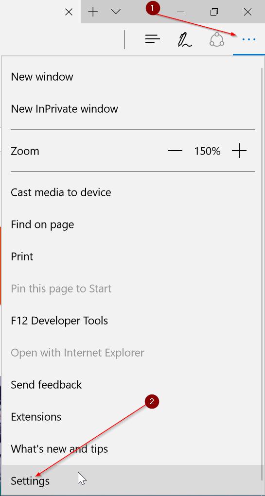 copia de seguridad o exportación de los favoritos de Edge pic1