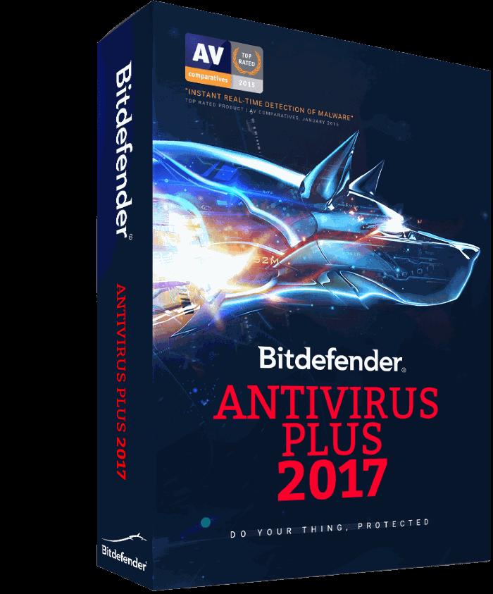 bitdefender antivirus plus para Windows 10