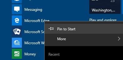 blank Start menu tiles Windows 10 pic4