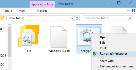 bootable usb of Windows 10 from esd file step3