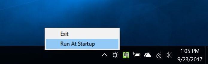 deslizador de brillo cambia el brillo de la pantalla de la barra de tareas en Windows 10 pic2