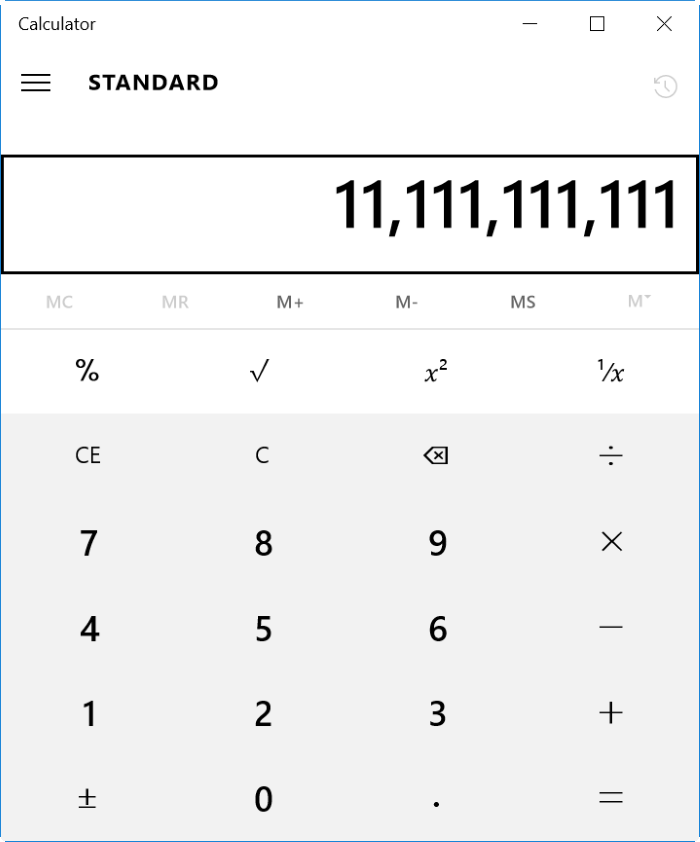 calculadora app no funciona o no abre Windows 10