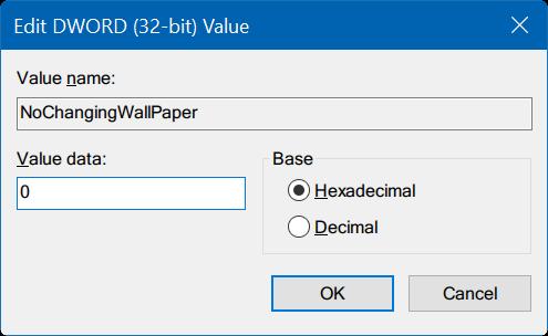 no puede cambiar el fondo de escritorio en Windows 10 pic6