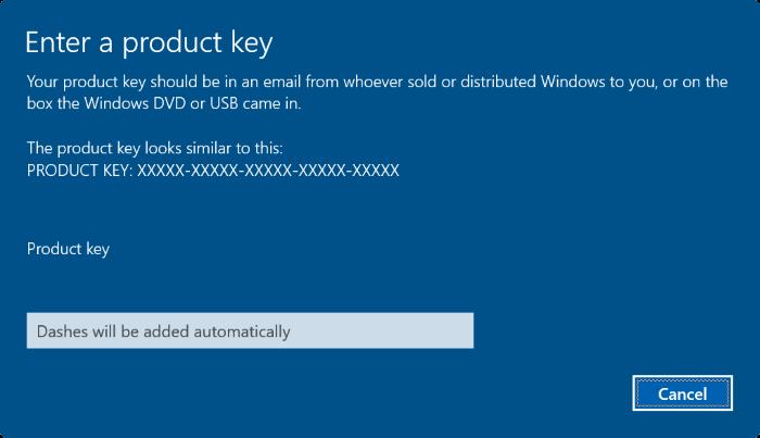 cambiar la clave de producto de Windows 10 pic8