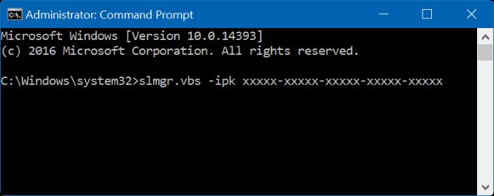 cambiar la clave de producto de Windows 10 pic9