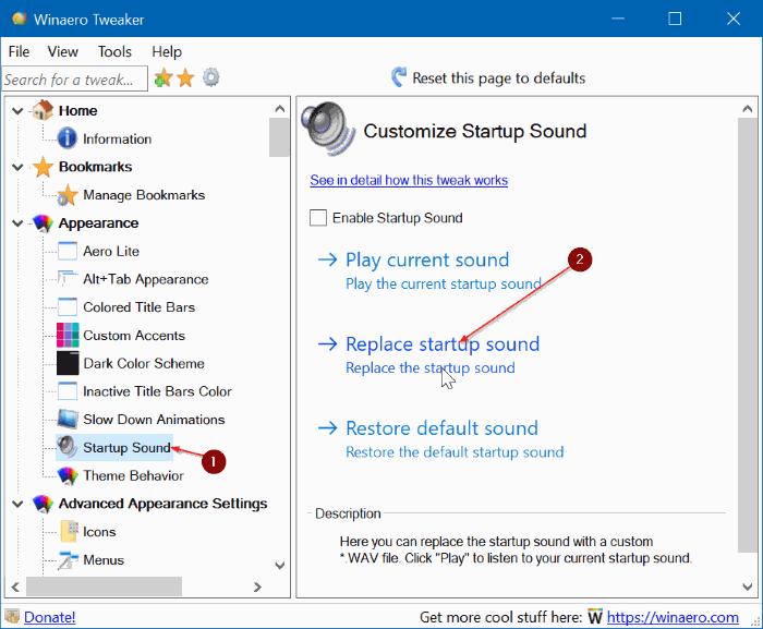cambiar el sonido de inicio de Windows 10 pic5