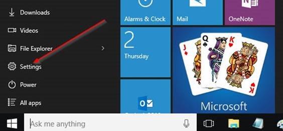 cambiar la ubicación de instalación predeterminada de las aplicaciones en Windows 10 step1.PNG