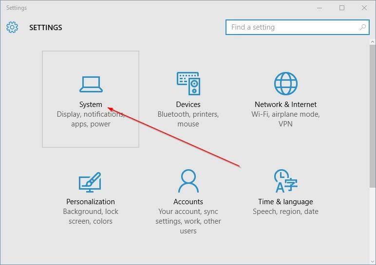 cambiar la ubicación de instalación predeterminada de las aplicaciones en Windows 10 step2.PNG