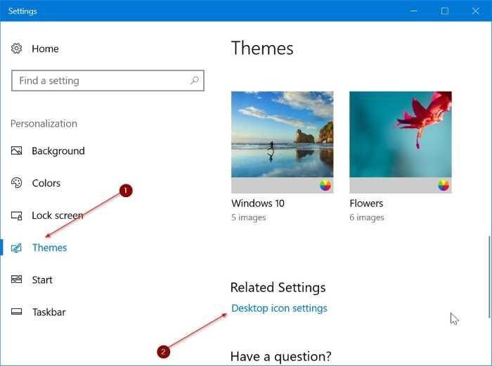 cambiar iconos de escritorio en Windows 10 pic2