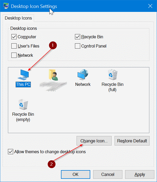 cambiar iconos de escritorio en Windows 10 pic3