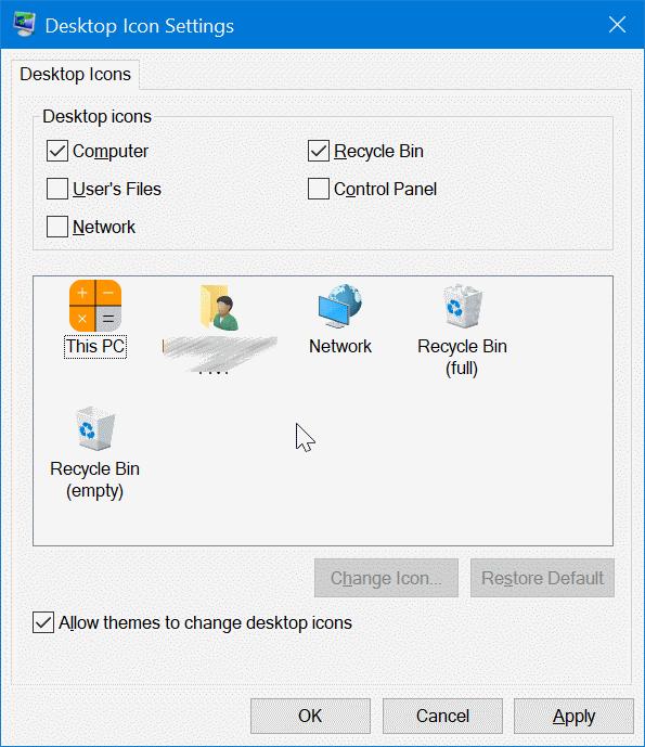 cambiar iconos de escritorio en Windows 10 pic7