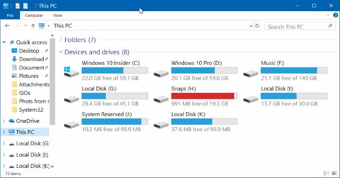 change file explorer font size in windows 10 pic01