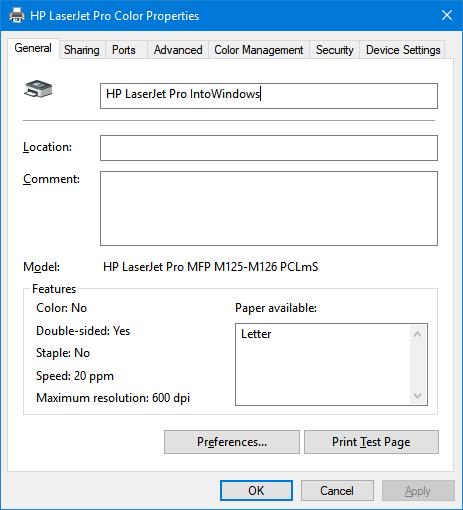 cambiar el nombre de la impresora en Windows 10 pic4