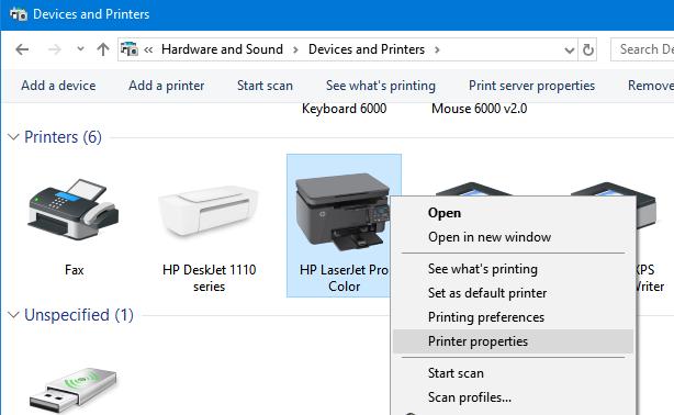 cambiar el nombre de la impresora en Windows 10 pic6