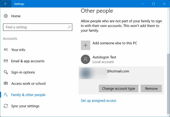 cambiar de cuenta de usuario estándar a cuenta de administrador en Windows 10 pic02