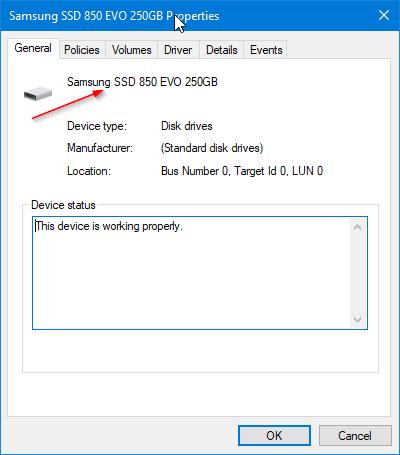 comprueba si tu PC con Windows 10 tiene SSD pic3