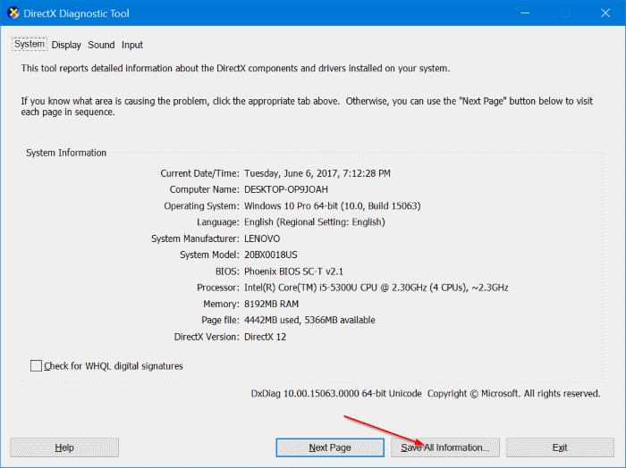 comprueba si tu PC con Windows 10 soporta miracast pic2