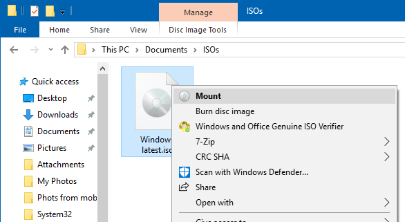 check windows 10 iso build number and edition pic01