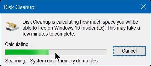 borrar y restablecer la caché de miniaturas en Windows 10 step3