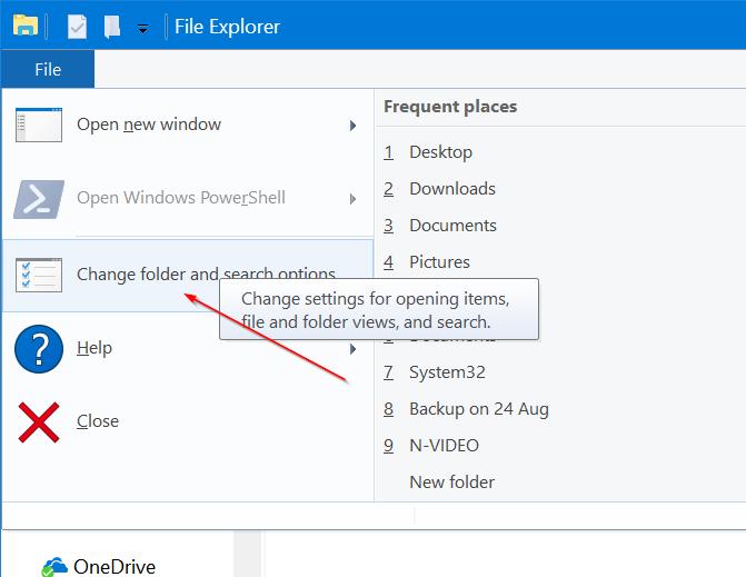 borrar archivos recientes de Windows 10 quick access pic2