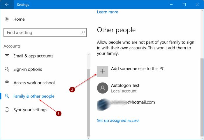 crear una nueva cuenta de administrador en Windows 10 pic1