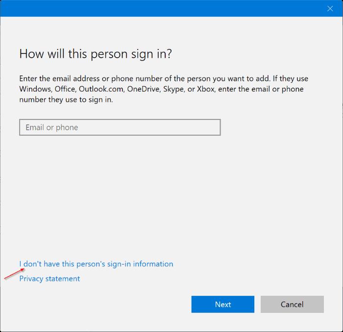 crear una nueva cuenta de administrador en Windows 10 pic2