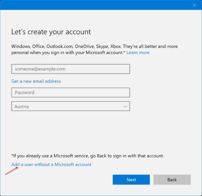 crear una nueva cuenta de administrador en Windows 10 pic3
