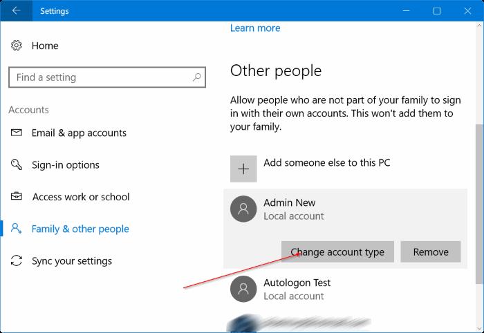crear una nueva cuenta de administrador en Windows 10 pic5