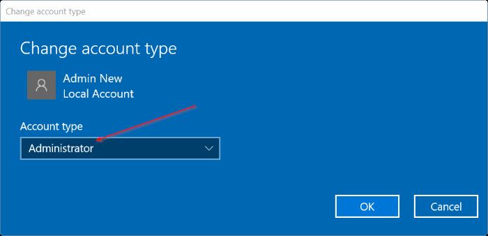 crear una nueva cuenta de administrador en Windows 10 pic6