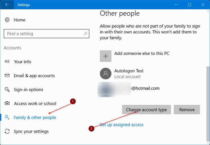 crear una nueva cuenta de administrador en Windows 10 pic8
