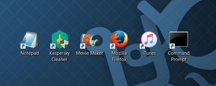 crear acceso directo del escritorio para programar en Windows 10