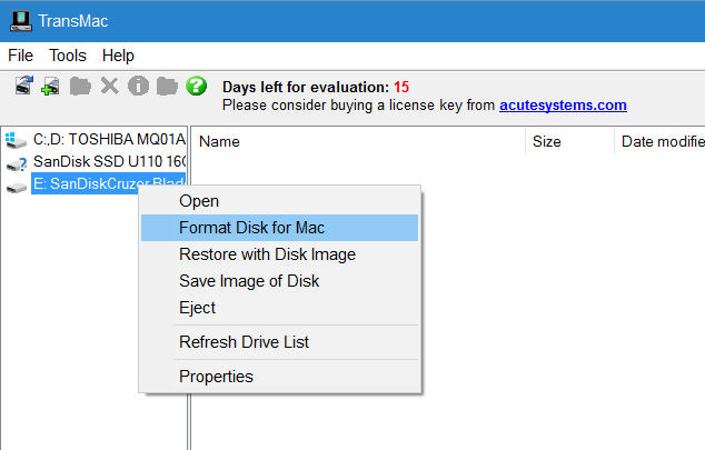crear macos sierra bootable usb desde Windows step4