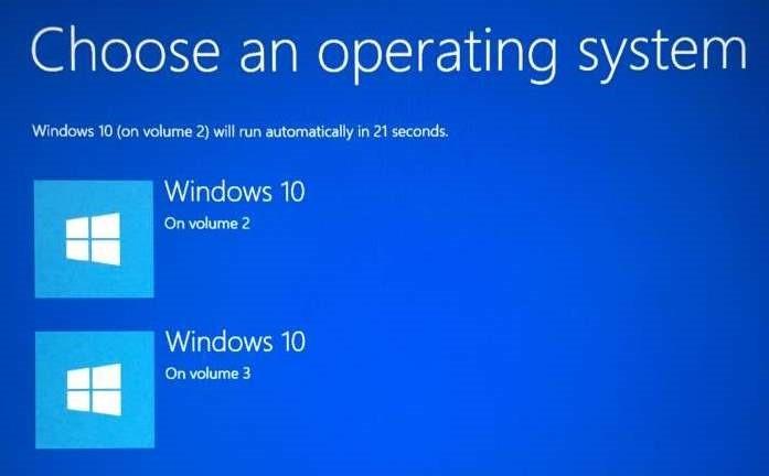 sistema operativo predeterminado Windows 10