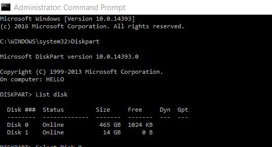 eliminar 450 MB de partición de recuperación en Windows 10 pic2.1